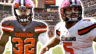 What If Ezekiel Elliott And Dak Prescott Were Drafted By The Cleveland Browns ? Madden 17 Challenge