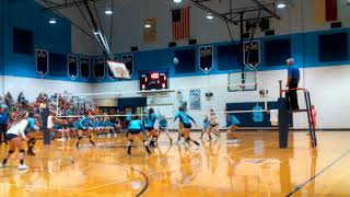 East Duplin v Swansboro volleyball, take 2