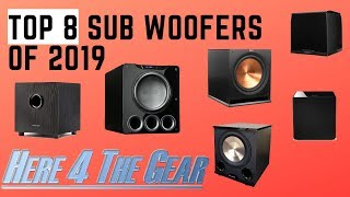 Top Home Theater Subwoofers of 2018. Best Subwoofers of 2018 Reviews.