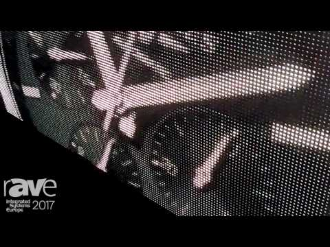 ISE 2017: Chainzone Technology Perimeter E3 Series Screen