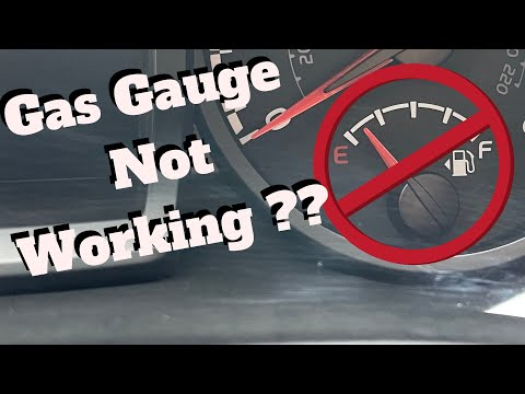 Gas gauge not working ? How to fix it - YouTube