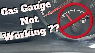 Gas gauge not working ? How to fix it