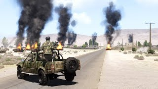 Arma 3: US-Afghan military base under attack In Afghanistan