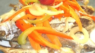How To Make Jamaican Style Fried Escovitch Fish Recipe 2015
