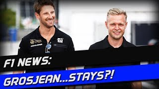F1 News: Haas Keep Grosjean and Magnussen
