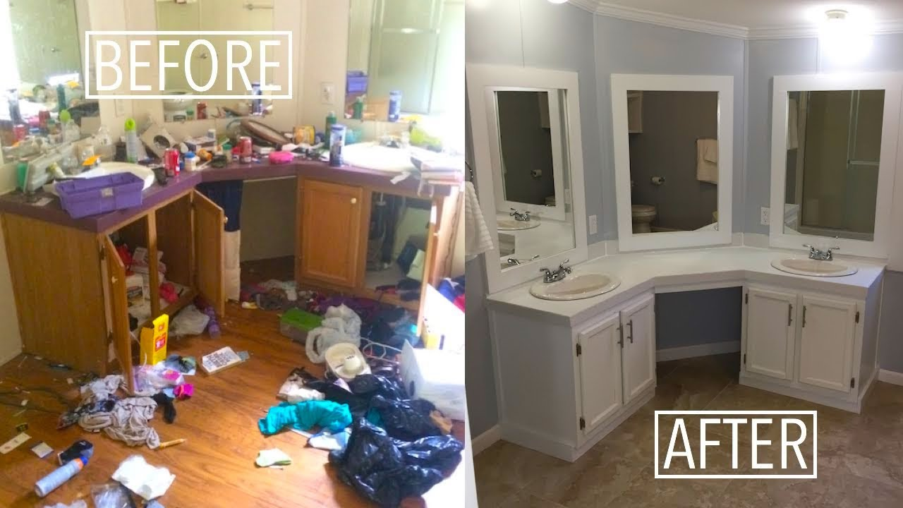 5 minute house flip | Double Wide Mobile Home | Before & After on double wide log manufactured homes, manufactured homes bathroom, double wide trailer, log cabin homes bathroom, single wide trailer bathroom, trailer mobile homes bathroom, remodeling mobile home bathroom, used mobile homes bathroom,