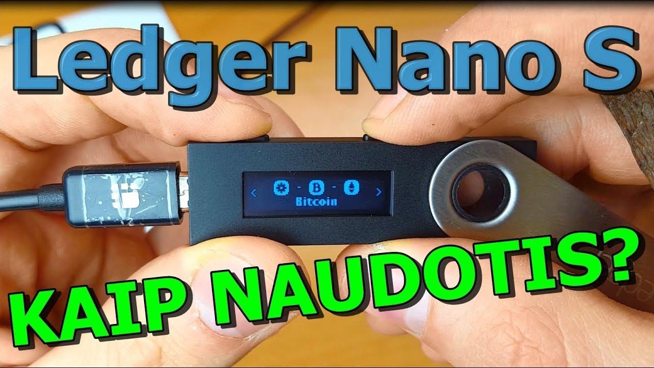 ledger piniginė nano bitcoin saugumo kortelė