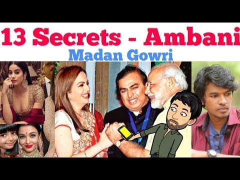13 Secrets about Ambani | Tamil | Madan Gowri | MG