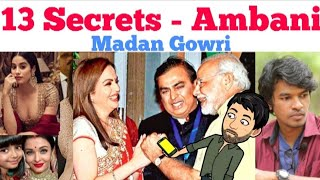 13 Secrets about Ambani | Tamil | Madan Gowri | MG