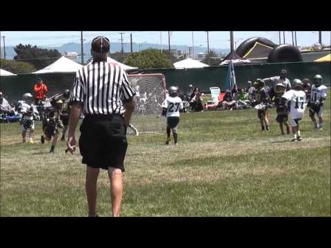 Granite Bay U11B Green Lacrosse Treasue Island - 2 games