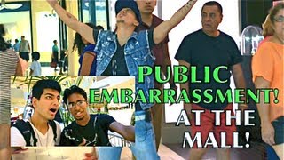 PUBLIC EMBARRASSMENT IN THE MALL PRANK!