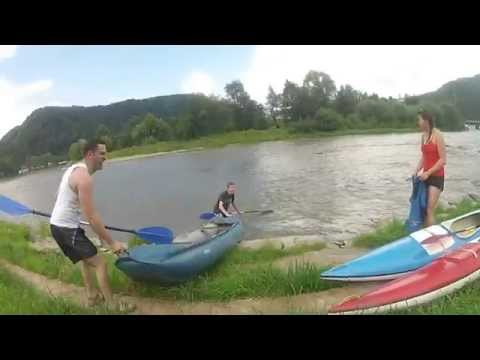 Gopro my passion Canoe trip on a river  ,,Kabat201 st 10