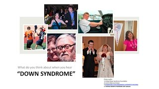 Repeat youtube video Living with Down Syndrome: Parents Health Professionals and Personal Perspectives