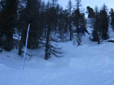 Ski jump - Mega Daffy