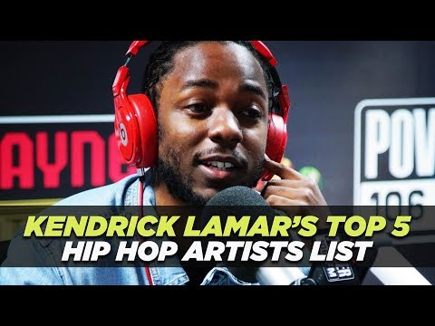 Kendrick Lamar's Top 5 Hip Hop Artists- Dead or Alive