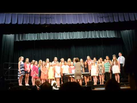 Silas Deane Middle School Chorale Spring Concert 2013