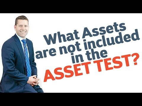 23 What Assets are not included in the Asset Test?