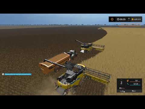 Farming simulator 17 Timelapse Australian x16 Map Broad acres Ep#49