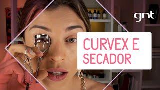Curvex e secador de cabelo | Dicas da Grazi