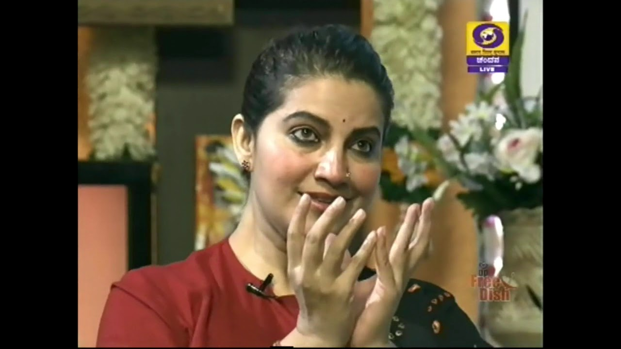 Famous Kannada Actress Bhavana in Shubhodaya Karnataka | DD Chandana