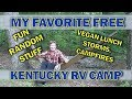 A Day in the Life of a  Full Time RVer & Free RV Camping in Kentucky