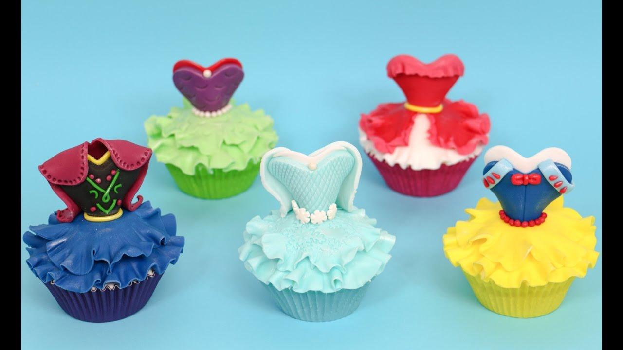 Disney Princess Cupcake Decorating Ideas