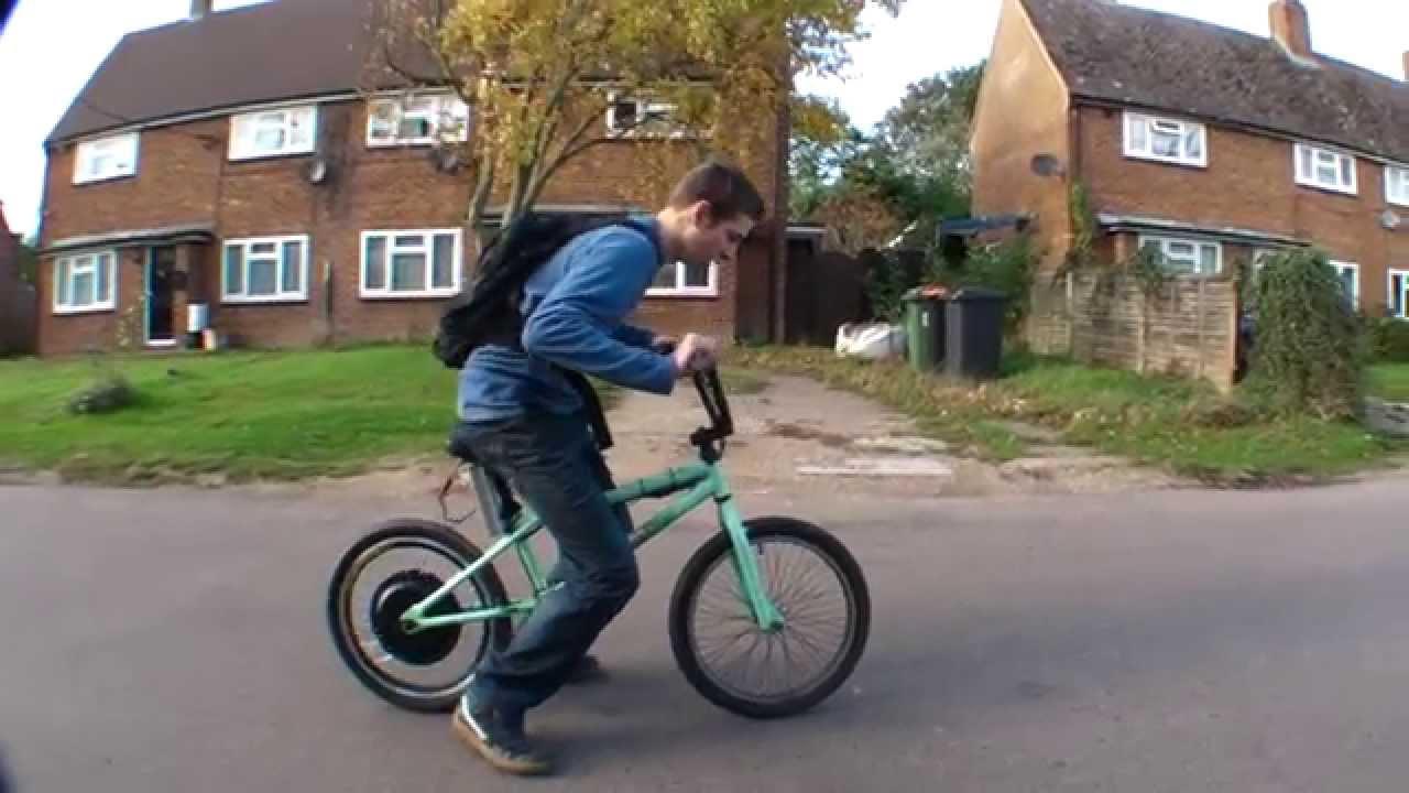 electric bmx bike youtube. Black Bedroom Furniture Sets. Home Design Ideas