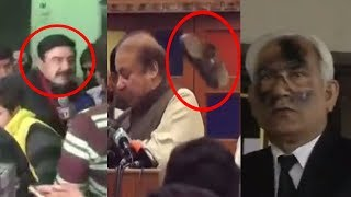 Shoes thrown in recent times at Pakistani politicians | PakiXah