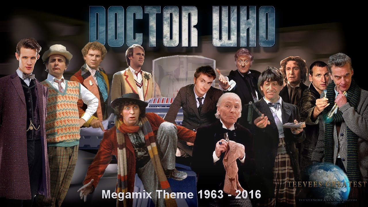 Google themes doctor who - Doctor Who 1963 2016 Megamix Theme All Doctors Hd Dolby 2016 12