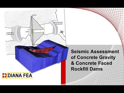 Seismic Assessment of Concrete Gravity & Concrete Faced Rockfill Dams