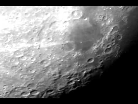 Bresser pollux 150 1400 eq & moon.avi youtube