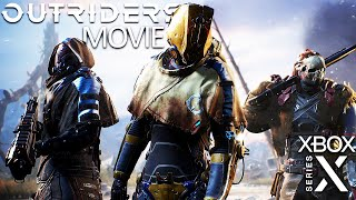 OUTRIDERS All Cutscenes (XBOX SERIES X) Game Movie 1440p 60FPS Ultra HD