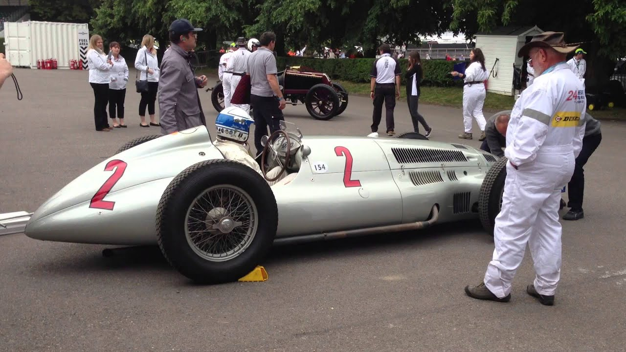 Mercedes W154 Silver Arrow At Goodwood Fos 2013 Youtube