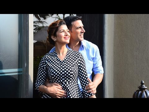 Akshay Kumar & Nimrat Kaur AIRLIFT Movie Promotions