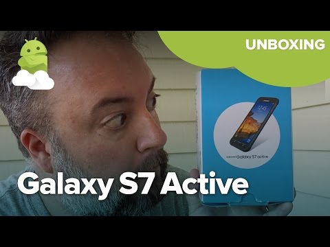 Samsung Galaxy S7 Active unboxing