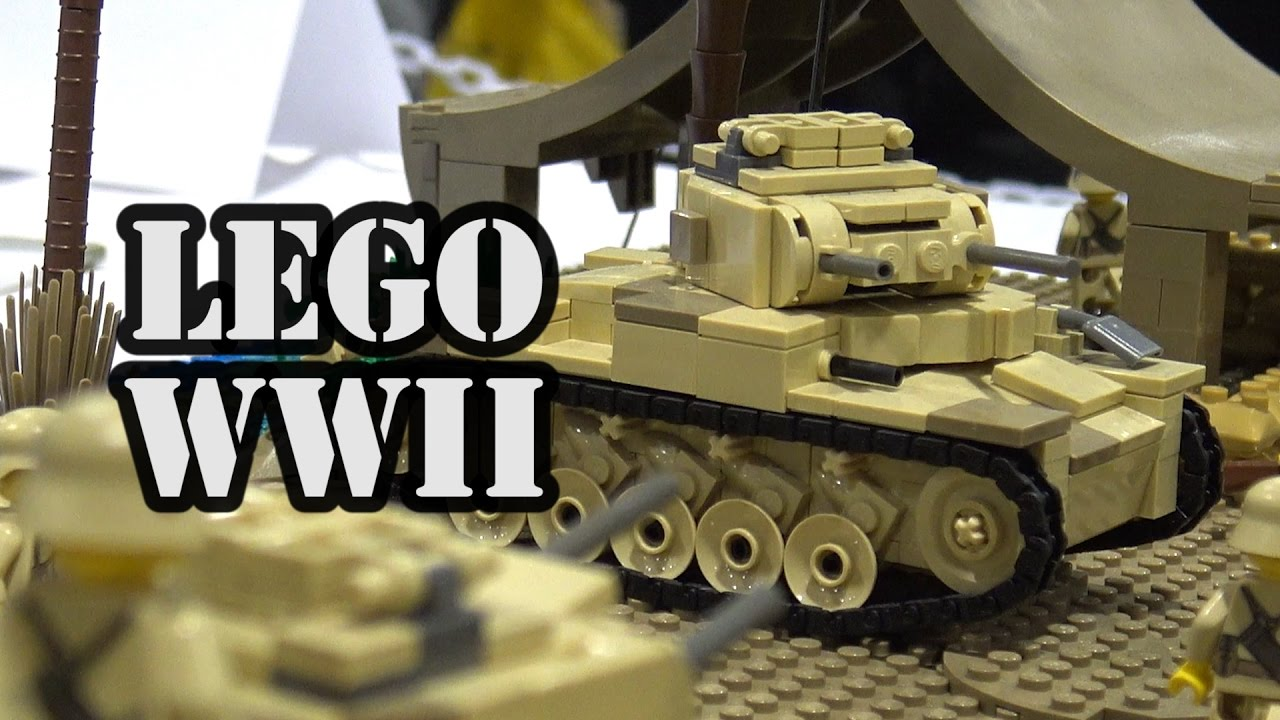 Lego wwii north africa 1942 german vs british military battle lego wwii north africa 1942 german vs british military battle youtube sciox Image collections