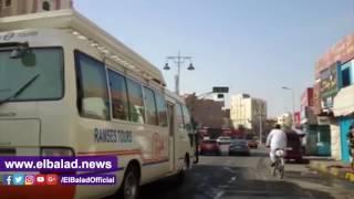 إجراءات أمنية مشددة في جميع ميادين البحر الأحمر.. صور وفيديو
