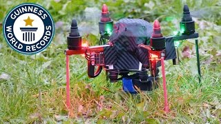 Fastest 100 m ascent by a quadcopter - Guinness World Records