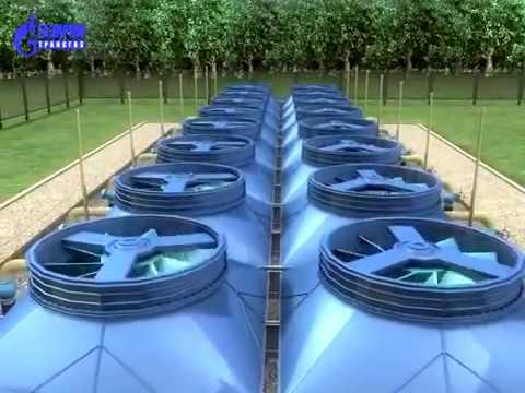 Магистральный транспорт газа. Учебный фильм. 2009 г.