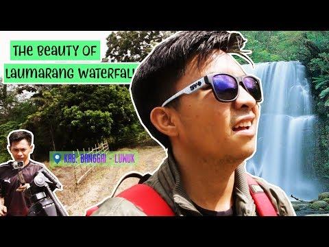 """Vlog - Harta Indonesia di kota LUWUK """"Air Terjun Laumarang"""""""