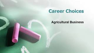 Agricultural Business Career - Information, Salary & School Ranking