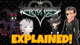 The Full Story of Kingdom Hearts Union Cross (KHUx) Explained - KH3 & January to April Update