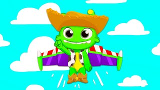 Groovy the Martian Got Talent educational video   Is Groovy's Lion king costume right?