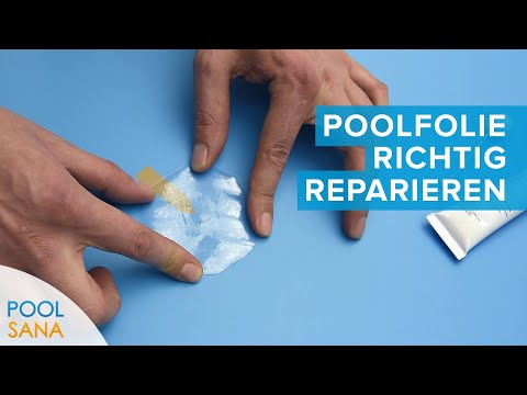 Unterwasser Kleber Pool Reparatur Set Flicken für Poolfolie Schwimmbadfolie