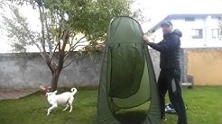 How to Fold Portable Privacy Pop up Toilet Tent