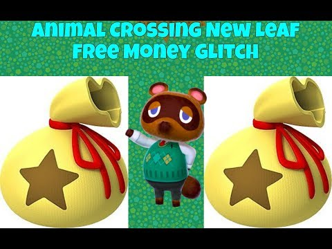 Animal Crossing New leaf easy free money glitch WORKING 2017 (Welcome Amiibo)