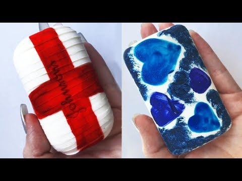 Soap Carving ASMR ! ( Relaxing Sounds ) Oddly Satisfying ASMR Videos ! P08