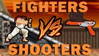 Gaming Debate: Shooter vs. Fighter Games