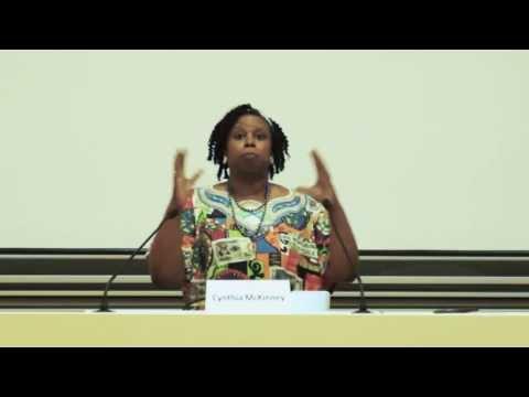 """Cynthia Mckinney, Conf/Débat """"Les Activités Minières et Les Droits Humains au Congo"""" - Partie 3"""