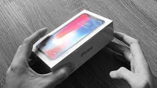 iPhone X kicsomagolás és aktiválás